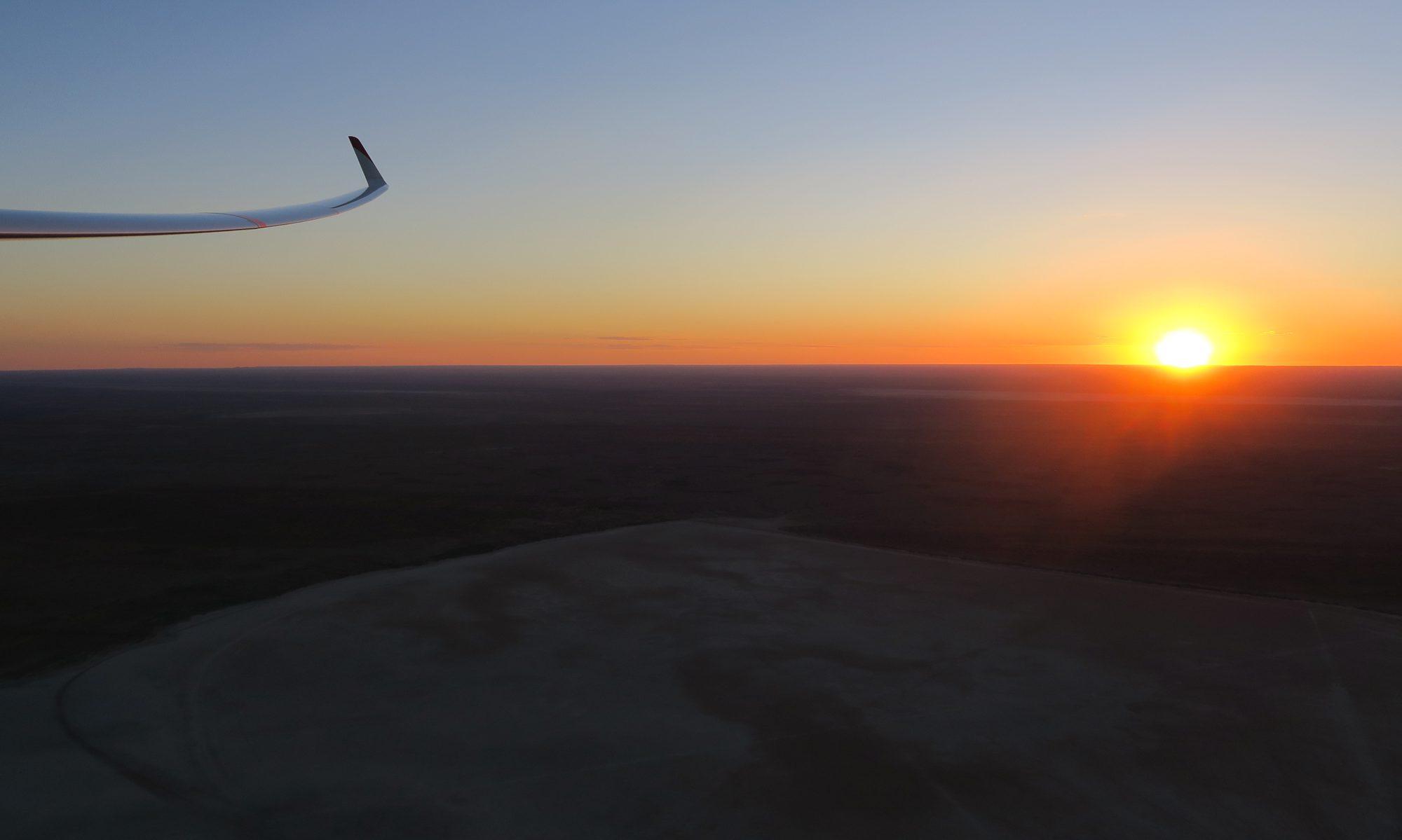 Segelfliegen in Deutschland und Namibia